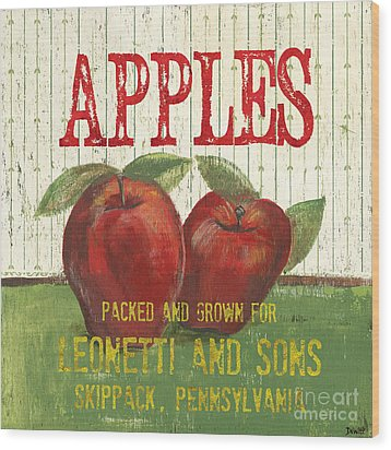 Farm Fresh Fruit 3 Wood Print by Debbie DeWitt