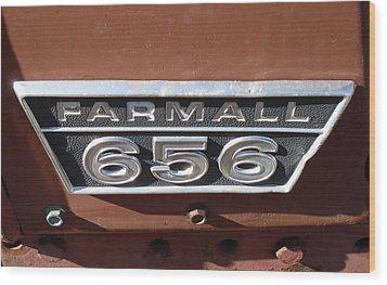 Wood Print featuring the photograph Farmall 656 by J L Zarek