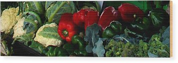 Farmer's Market 1 Wood Print