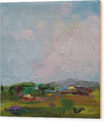 Farmland IIi Wood Print