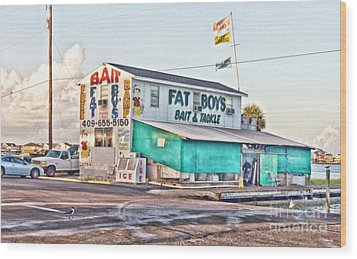 Fat Boys Wood Print by Scott Pellegrin