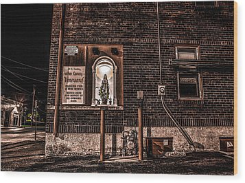 Father Conroy's Vinyard Of Hope Wood Print by Ray Congrove