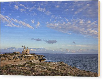 Favignana - Lighthouse Wood Print