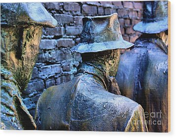 Wood Print featuring the photograph Franklin Roosevelt   Memorial Washington Dc by John S