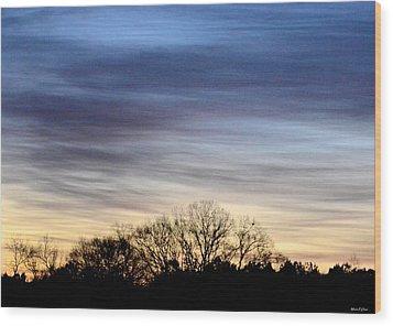 February 1 Dawn 2013 II Wood Print by Maria Urso