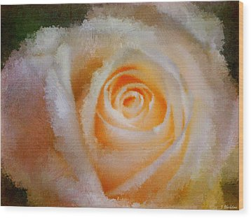 Feelings Of Flowers - Image Art Wood Print by Jordan Blackstone