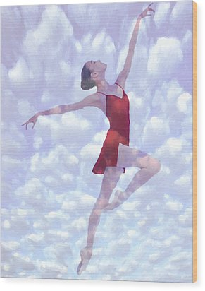 Feels Like Heaven Wood Print by Steve K