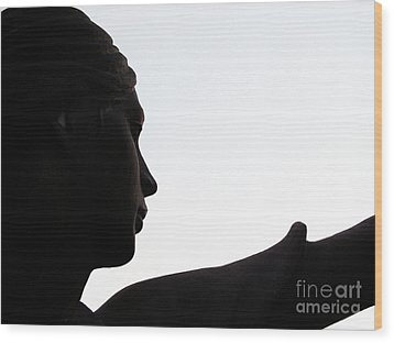 Female Educator Two Wood Print by Tina M Wenger