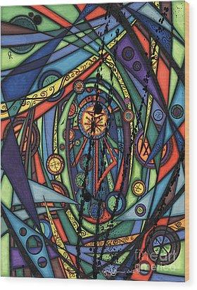 Female Spirituality  Wood Print