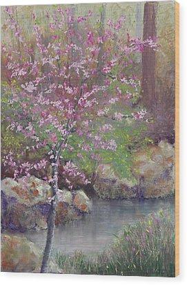 Femme Osage Spring Wood Print by Lorraine McFarland