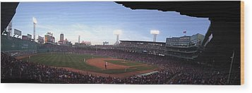 Fenway Wood Print by Jim Keller