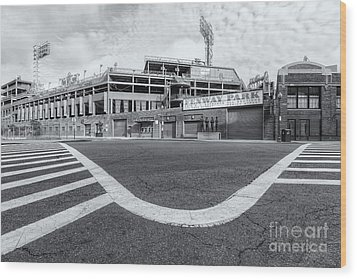 Fenway Park Vi Wood Print by Clarence Holmes