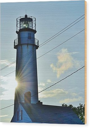 Fenwick Island Lighthouse - Delaware Wood Print