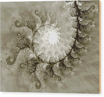 Fern Wood Print by Kevin Trow