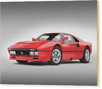 Wood Print featuring the photograph Ferrari 288 Gto by Gianfranco Weiss