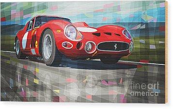 Ferrari 330 Gto 1962 Wood Print by Yuriy Shevchuk