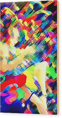 Festival Wood Print by Bruce Iorio