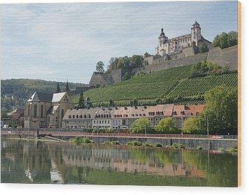 Festung Marienberg Wood Print