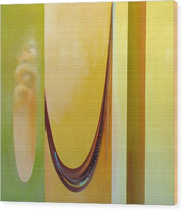 Fibonacci Fooey Factory Three Wood Print