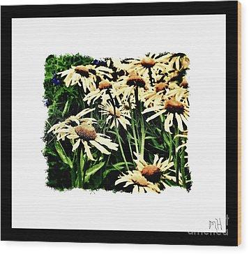 Field Of Love Wood Print by Marsha Heiken