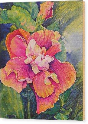 Fiesta Petals Wood Print