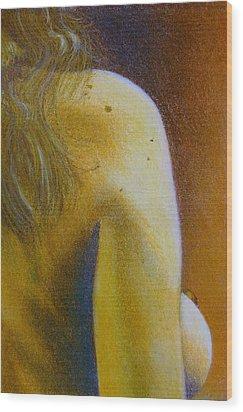 Figure Study Wood Print by Scott Kingery