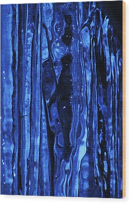 Wood Print featuring the photograph Figure Within by James McAdams