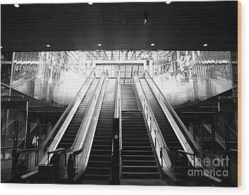 Wood Print featuring the photograph Final Exit by Maja Sokolowska