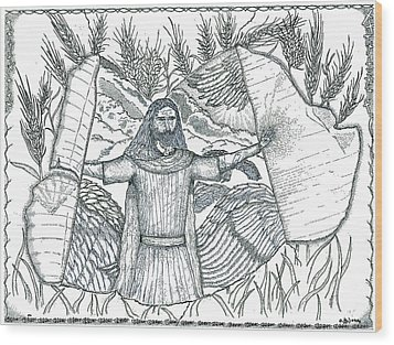 Final Harvest Wood Print