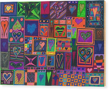 Find U'r Love Found Wood Print