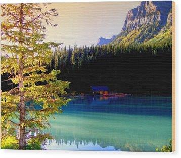 Finding Inner Peace Wood Print by Karen Wiles