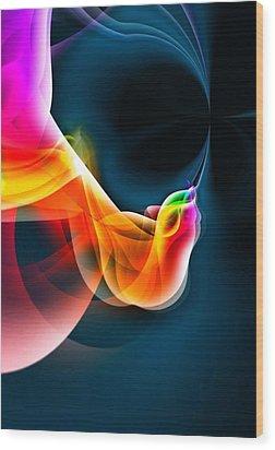 Fine Art 2 By Nico Bielow Wood Print