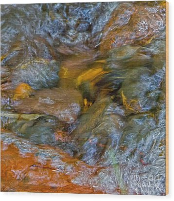 Holy Waters Of Sedona Az By Joanne Bartone Wood Print