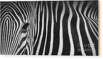 Fingerprints Wood Print