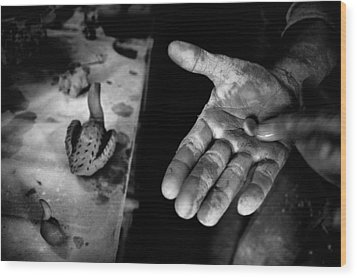 Finishing Touches Wood Print by Ilker Goksen