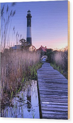 Fire Island Reflections Wood Print by JC Findley