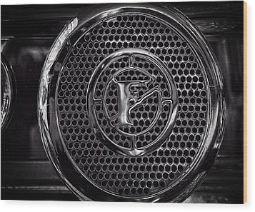 Wood Print featuring the photograph Fire Truck Siren by Bob Orsillo