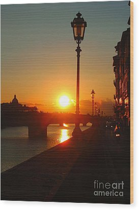 Firenze-14 Wood Print
