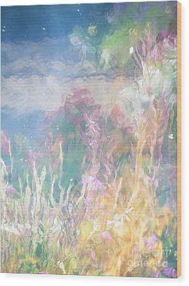 Fireweed Number 9  Wood Print by Brian Boyle