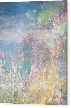 Fireweed Number 9  Wood Print