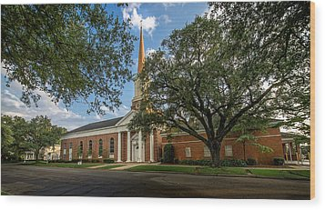 First Baptist Of Georgetown II Wood Print