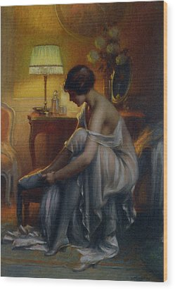 First Primers Wood Print by Delphin Enjolras