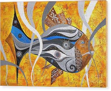 Fish 0465 - Marucii Wood Print by Marek Lutek