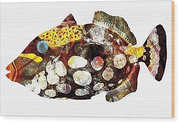 Fish 504-11-13 Marucii Wood Print by Marek Lutek