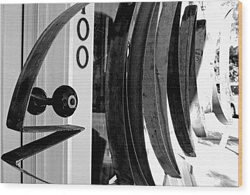 Fishbone Wood Print