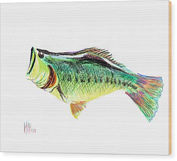 Fishermans Delight Wood Print by Kip DeVore