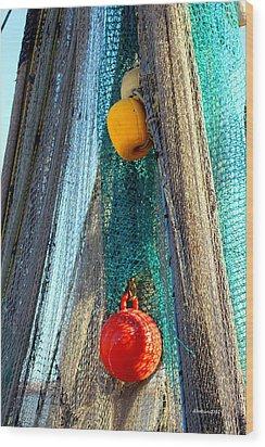 Fisherman's Tools Wood Print