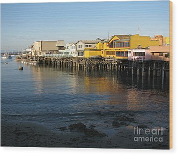 Fisherman's Wharf Wood Print