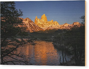Fitz Roy Massif Wood Print