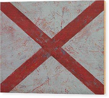 Alabama Wood Print by Michael Creese